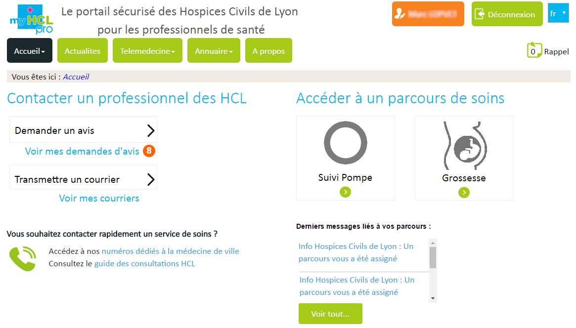 MyCHU Toulouse Pro, portail pour les professionnels de ville : prise de rendez-vous sur créneaux dédiés